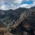 Aufstieg nach La Merica - Blick ins Valle Gran Rey