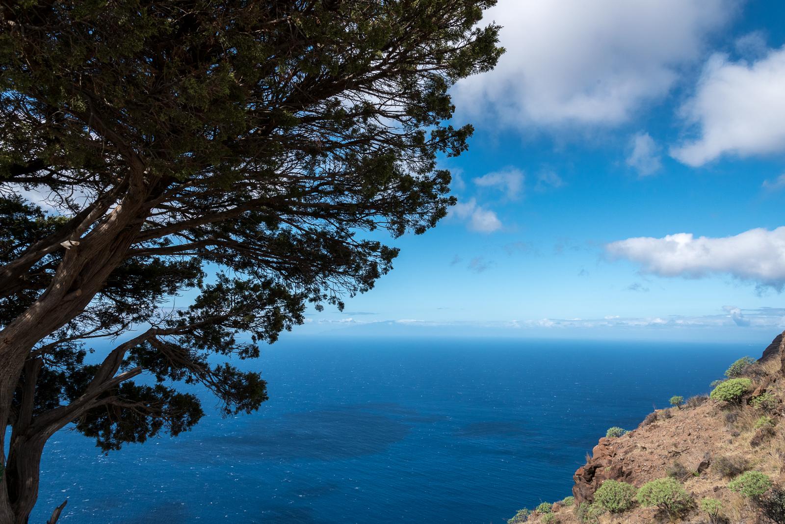La Palma im Dunst