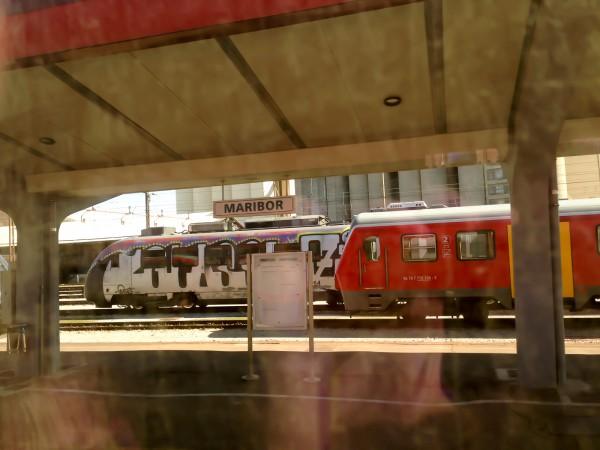 Maribor - die erste Station in Slowenien