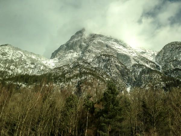 Im Zug durch die Alpen