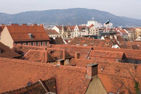Dächer der Grazer Altstadt
