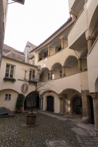 Hinterhof in der Grazer Altstadt