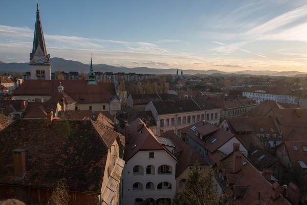 Südliche Altstadt von Ljubljana
