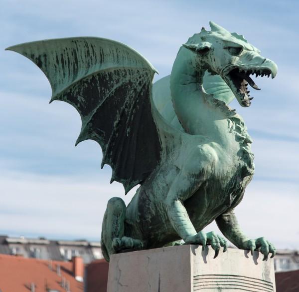 Drache in Ljubljana