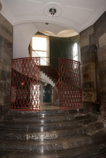 Treppenhaus im Wolkenkratzer