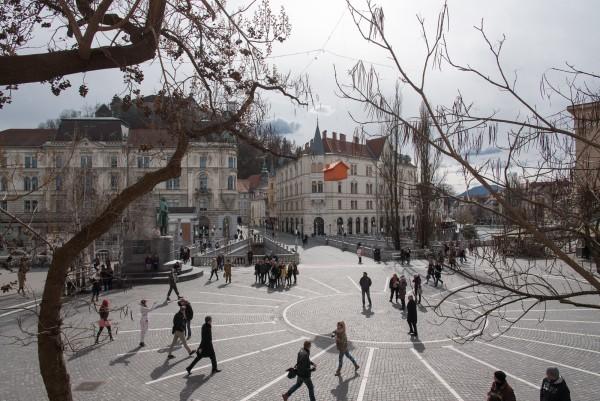 Prešernov trg (Presernov Platz)