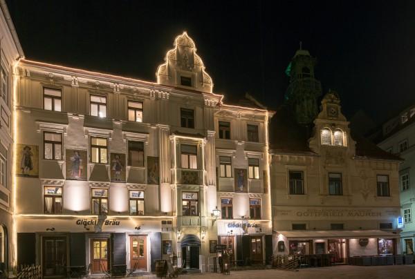 Am Grazer Glockenspielplatz
