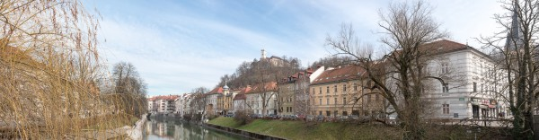 Ufer der Ljubljanica