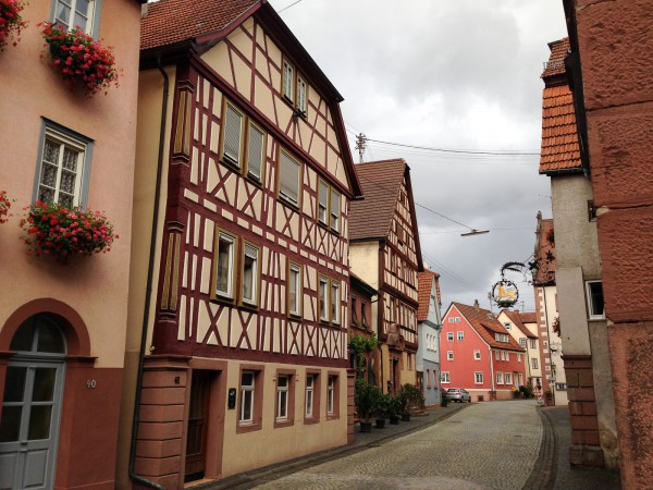 Gasse in Rothenfels