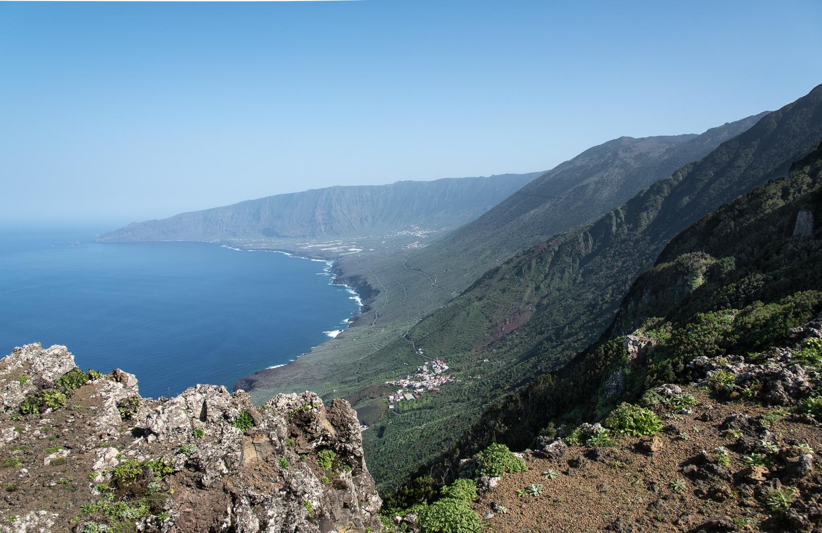 Blick auf El Golfo