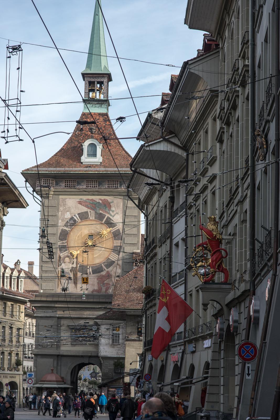 Bern - Zytglogge von Westen