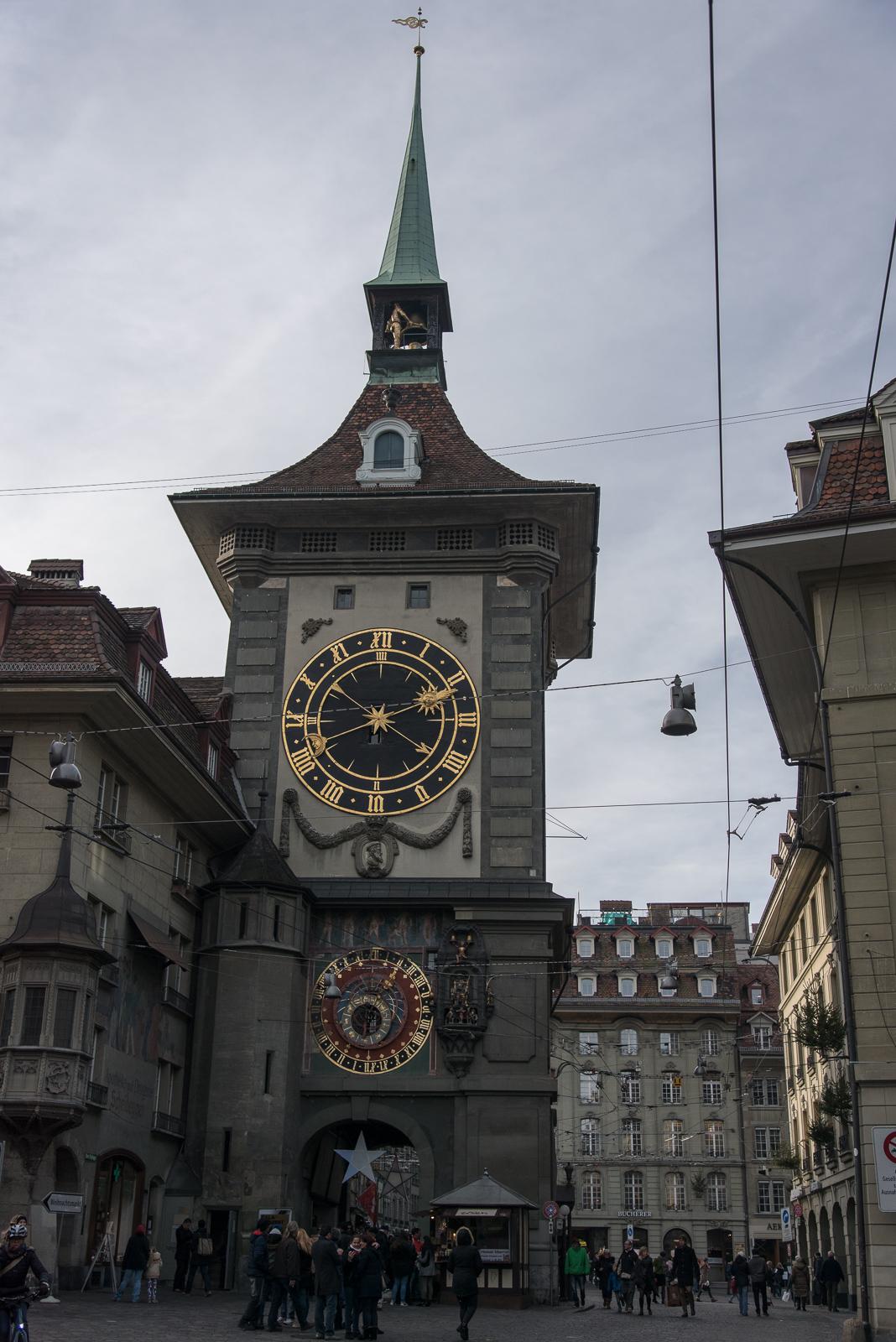 Bern - Zytglogge von Osten
