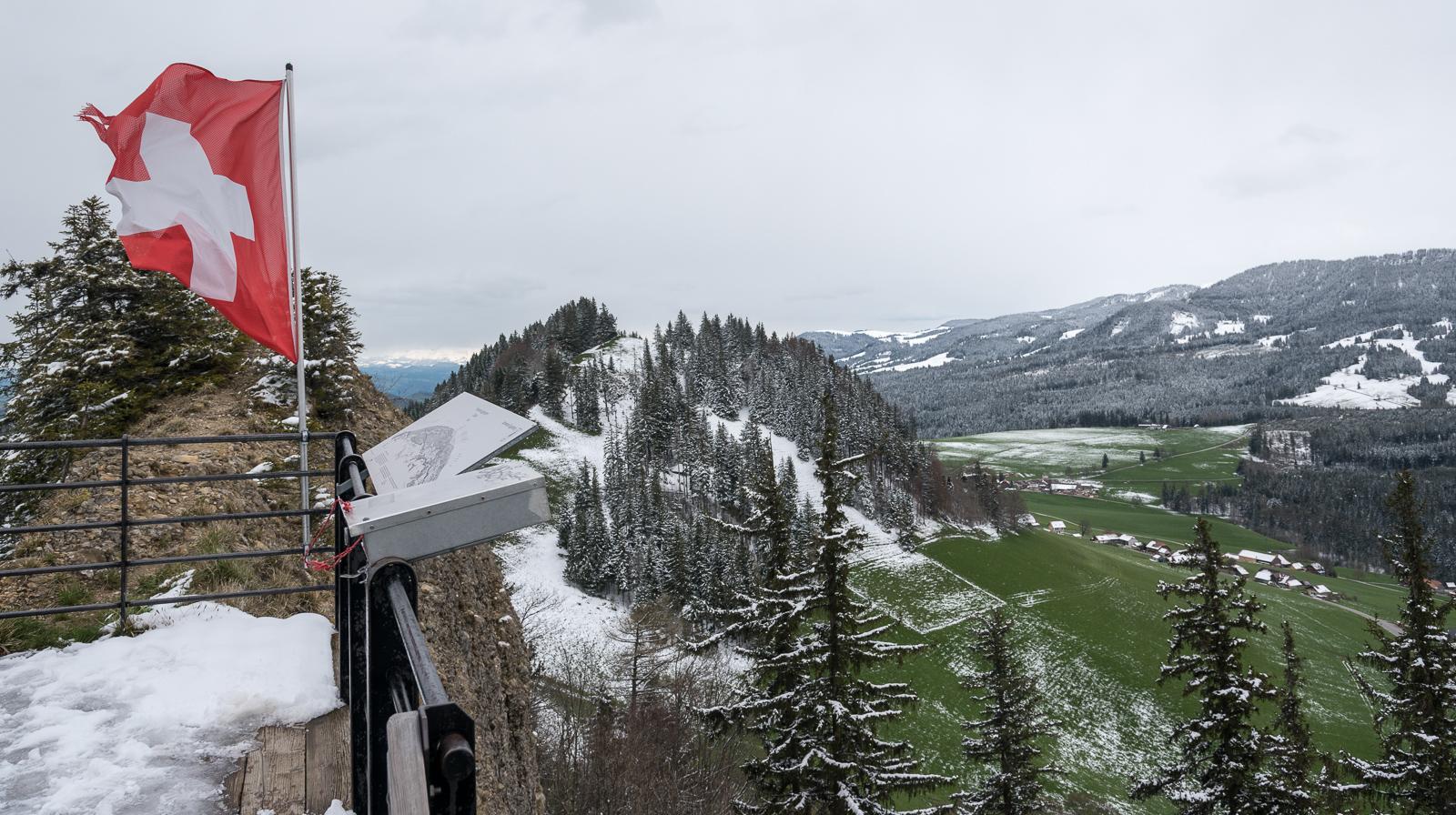 1283 Meter über NN