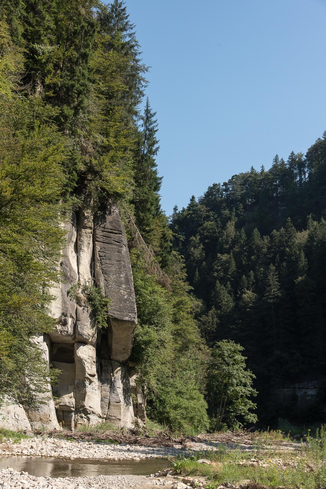 Felsen am Schwarzwasser