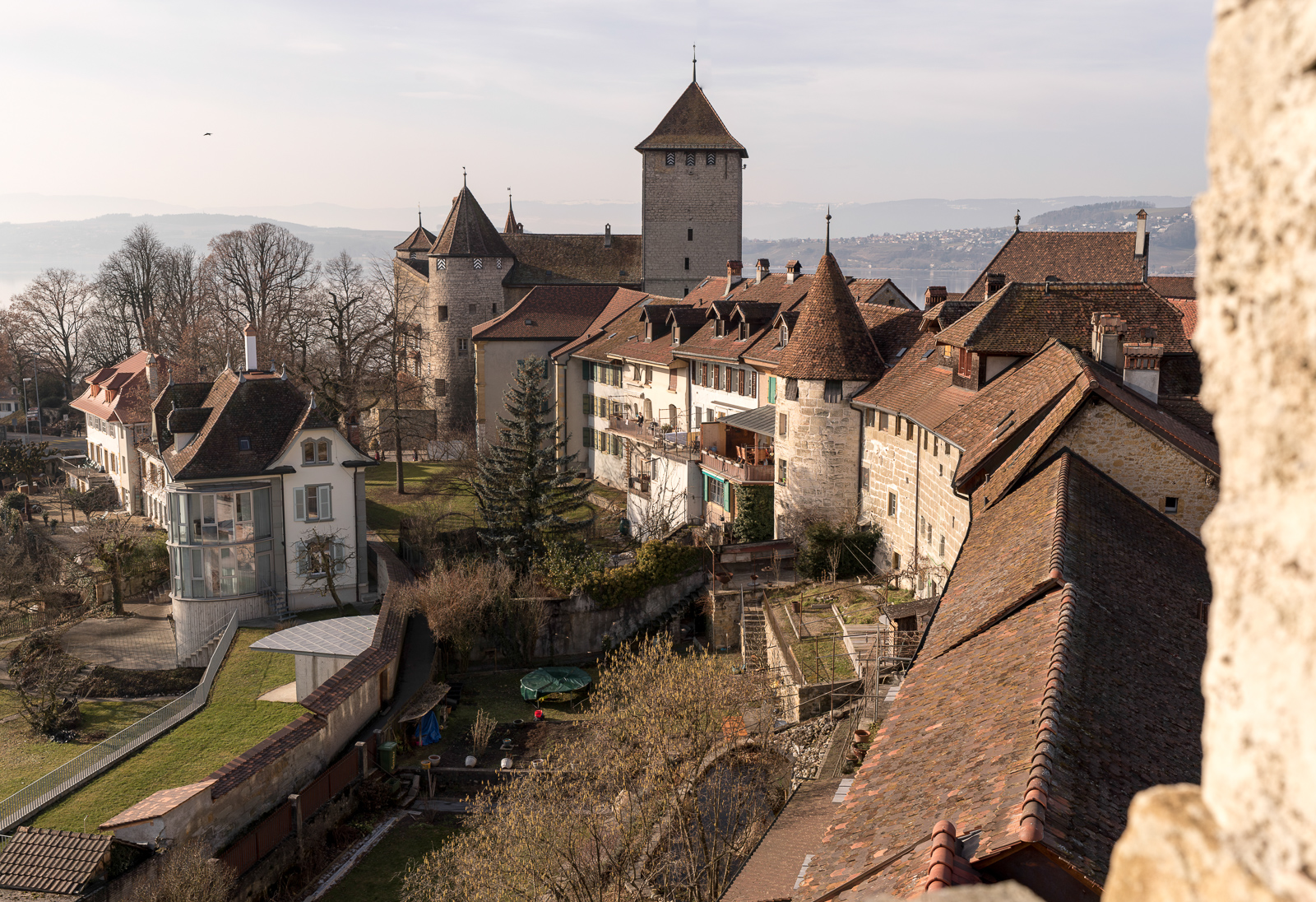 Murten, Stadtmauer