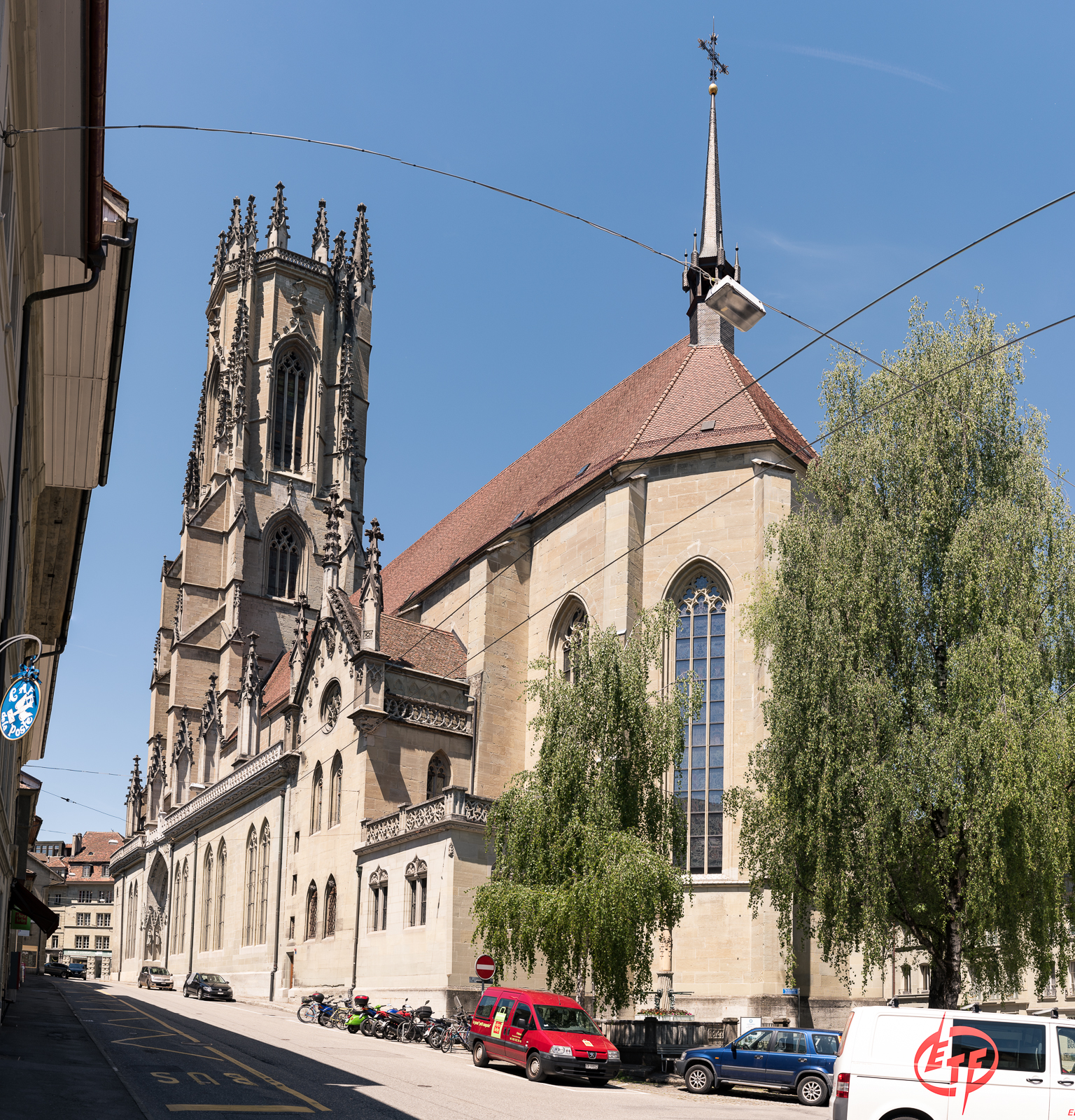 Kathedrale in Fribourg