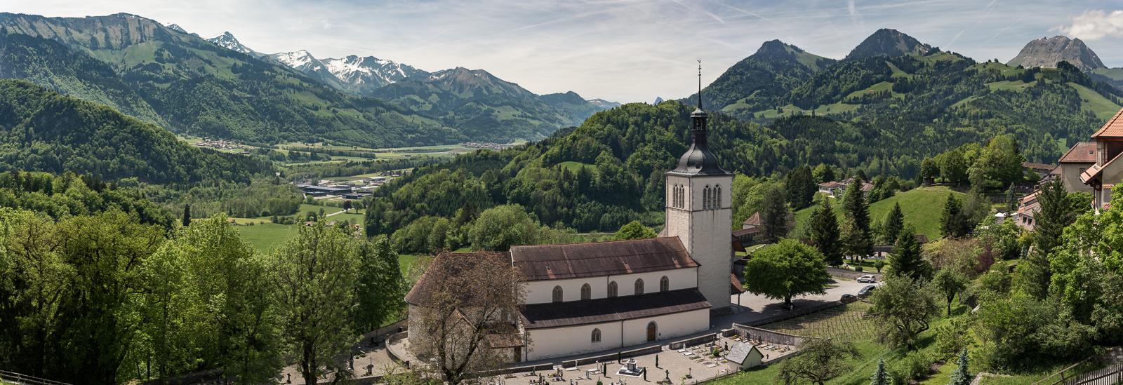 Kirche in Gruyeres
