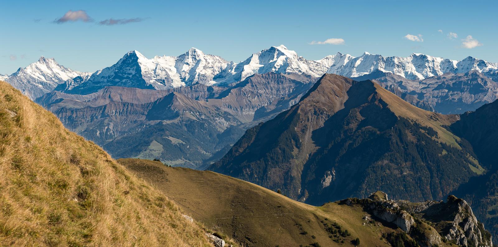 Niesen und Alpen