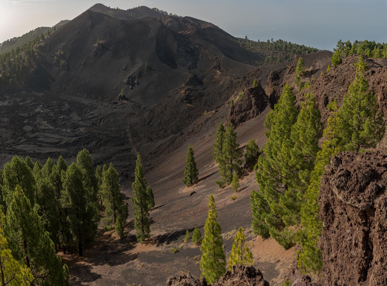 Einer der vielen Krater